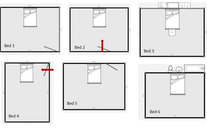 Bedroom Furniture Layout Feng Shui - Bedroom Style Ideas