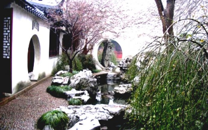 Chinese Garden Ideas For Small Gardens Design Layout Feng Shui