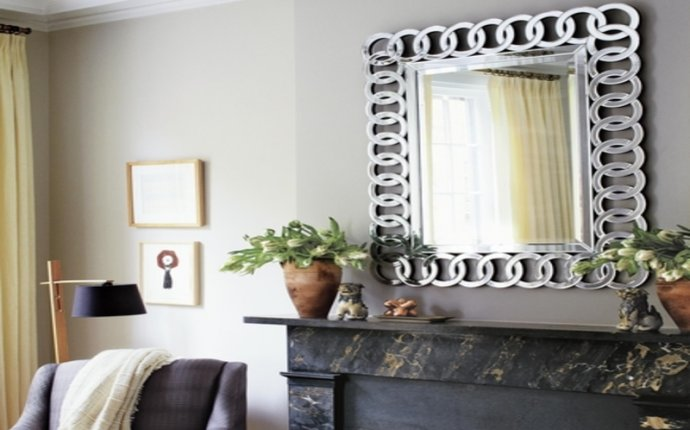 Feng Shui Mirror On Fireplace Artflyz.com