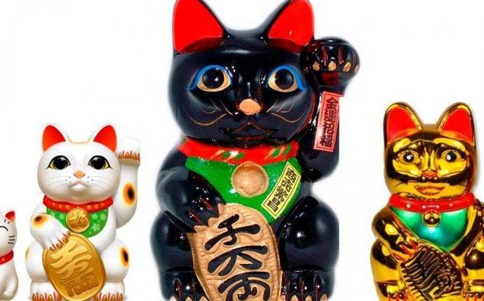 Feng Shui Says Use Neko Cats for Wealth, Protection and Good
