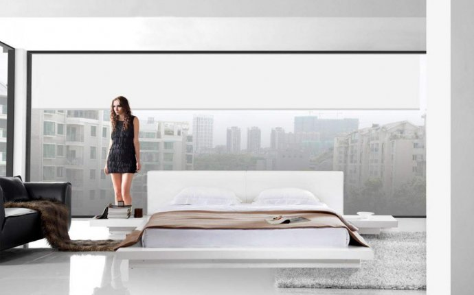 Smooth Feng Shui Style Low-profile Platform Bedroom Design