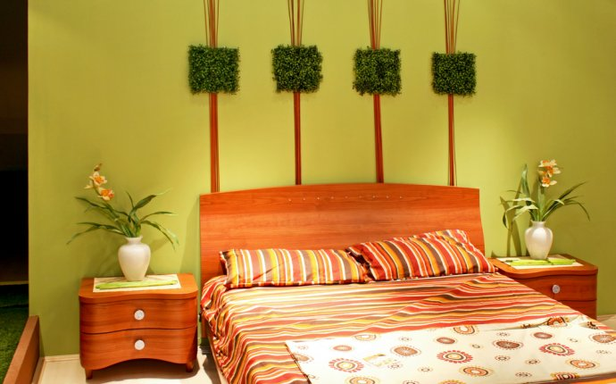 Feng Shui bedroom colors Green