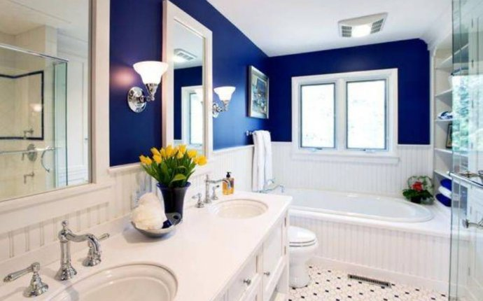 Feng Shui bathroom Color Decorating