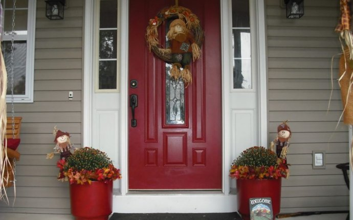Feng Shui Red front door